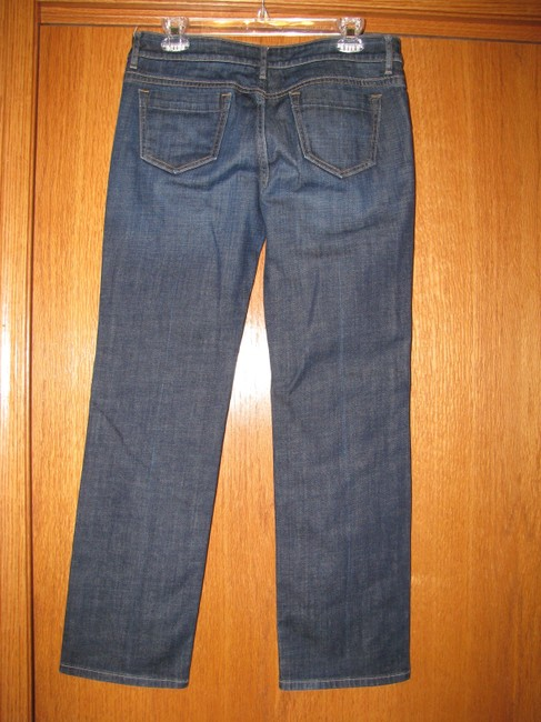 Banana Republic Straight Leg Jeans-Dark Rinse Image 1