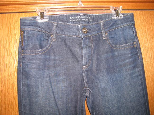 Banana Republic Straight Leg Jeans-Dark Rinse Image 2