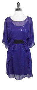 Mark & James by Badgley Mischka Silk Sequin Dress