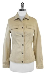 Piazza Sempione Khaki Button Up Jacket
