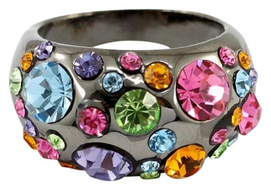 Other Fashionable Multi Colored Swarovski Crystal Ring