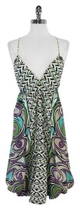 Nicole Miller short dress Multi Color Spaghetti Strap on Tradesy