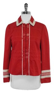Marc Jacobs Red Cotton Jacket