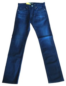 Big Star Slim Denim Pants Straight Leg Jeans-Medium Wash