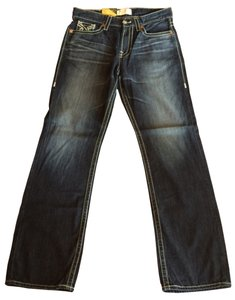 Big Star Eastman Denim Pants Straight Leg Jeans-Medium Wash