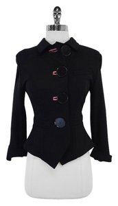 Paul Smith Black With Oversized Buttons Jacket