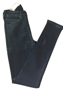 Citizens of Humanity Waxed Coated Skinny Jeans-Coated