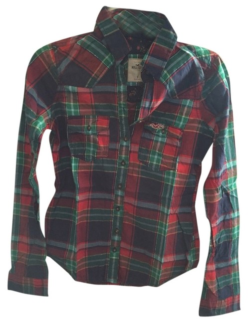 Preload https://img-static.tradesy.com/item/1405801/hollister-plaid-na-button-down-top-size-4-s-0-0-650-650.jpg