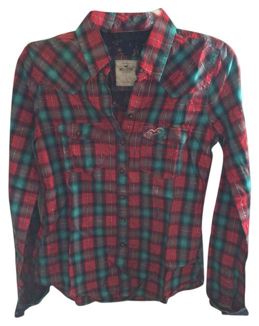 Preload https://img-static.tradesy.com/item/1405830/hollister-plaid-button-down-top-size-4-s-0-0-650-650.jpg