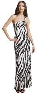 Black and cream Maxi Dress by Diane von Furstenberg