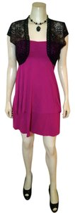 Hurley short dress Dark pink P939 Size Small Summer on Tradesy