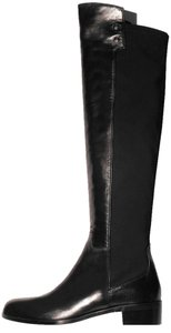 Butter Leather Over The Knee Size 39 Made In Italy black Boots