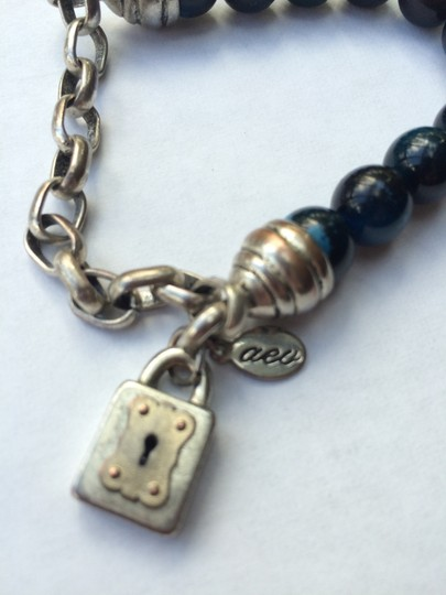 American Eagle Outfitters Ae Lock Beaded Bracelet