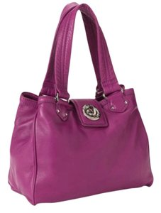 Marc by Marc Jacobs Leather Tote in Electric Violet