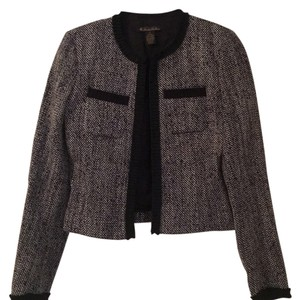 Brooks Brothers Navy Tweed Blazer
