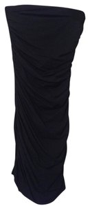 Express Strapless Bodycon Ruched Sexy Dress