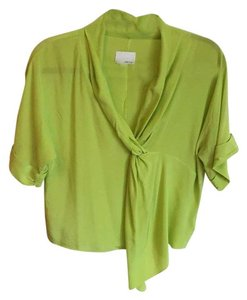 Greylin Top Lime green
