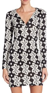 Diane von Furstenberg short dress Black Tallulah Tory Burch on Tradesy