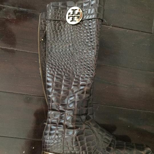 Tory Burch Brown Boots Image 3