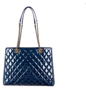 Chanel Tote in Blue
