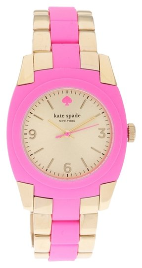 Preload https://img-static.tradesy.com/item/14063695/kate-spade-pinkgold-1yru0163-skyline-ss-polycarbonate-new-watch-0-1-540-540.jpg