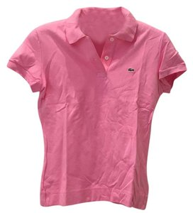 Lacoste Top Bubble gum pink