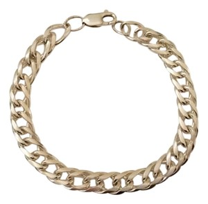 Other Sterling Silver Curb Link Bracelet 18 grams