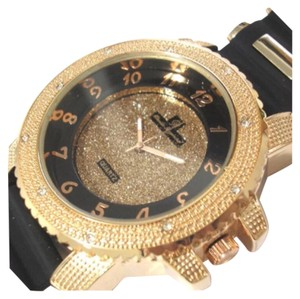 Other New Unisex Black & Rose Gold Oversized Watch Rubber Band