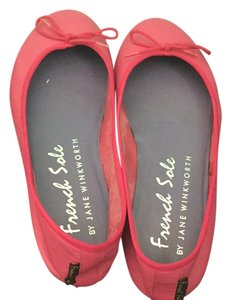 French Sole Hot Pink Flats