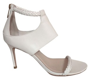 Cole Haan Leather Stiletto White Sandals