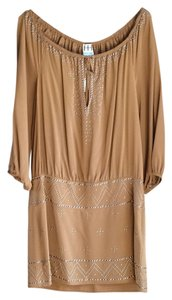 Haute Hippie short dress Java Brown on Tradesy