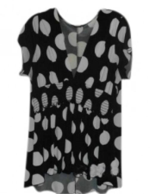 Other Top black w/white polka dots