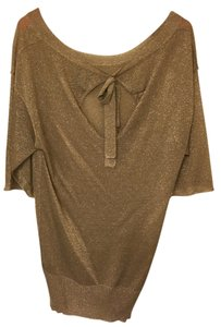 Ella Moss Top Gold