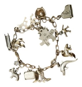 Other Charm bracelet with charms attached