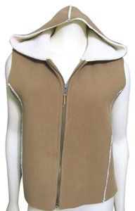 Ralph Lauren Hoodie Hoody M Medium 8 10 Sleeveless Fleece Zippered Shirt Vest