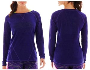Xersion Xersion Long-Sleeve Burnout Crewneck Tee