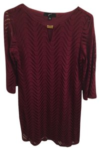 GNW short dress Maroon on Tradesy