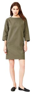 Gap short dress Army Green on Tradesy