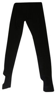 Moda International Stirrup Black Leggings