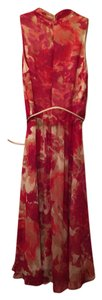 Jones New York short dress Fushia and tan multicolor on Tradesy