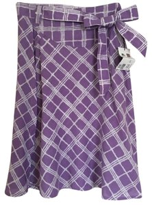 Burberry Skirt Purple