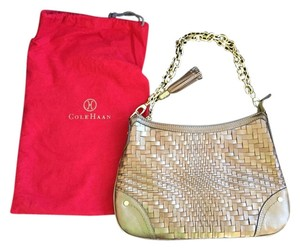 Cole Haan Top Handle Chain Weave Shoulder Bag