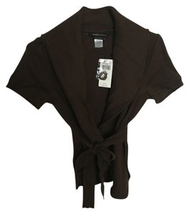 BCBGMAXAZRIA Bcbg Jacket Brown Cardigan Sweater