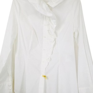 Piazza Sempione Button Down Shirt White