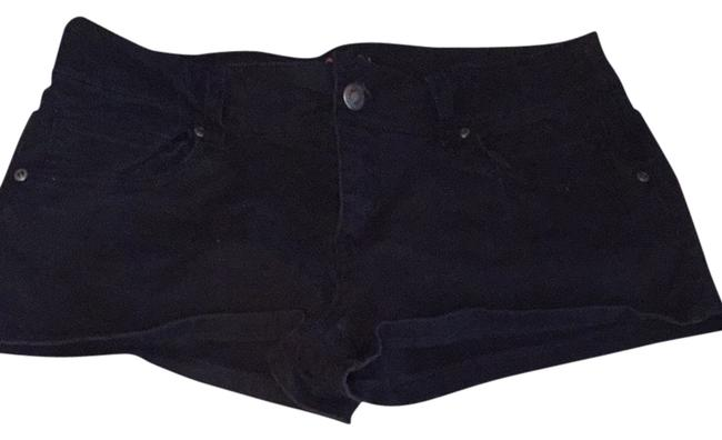 Item - Black Light Wash Denim Shorts Size 28 (4, S)