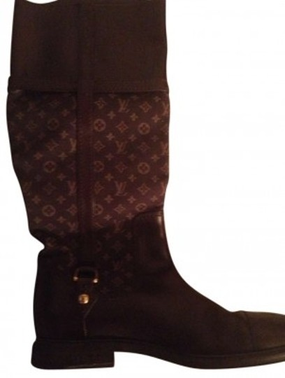 Preload https://img-static.tradesy.com/item/140691/louis-vuitton-chocolate-brown-bootsbooties-size-us-65-0-0-540-540.jpg