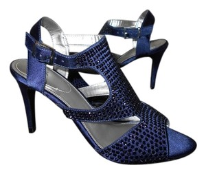 M.P.S. Shoes Royal Crystals Mps Blue Sandals