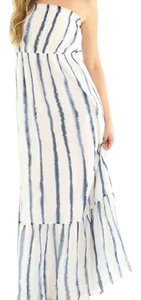 Blue & White Maxi Dress by Quiksilver