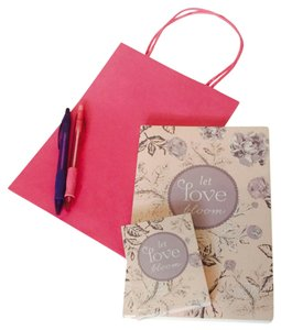 Graphique de France Let Love Bloom Journal & Mini Notepad Gift Set