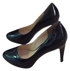 Cole Haan Black Patent Leather Platforms